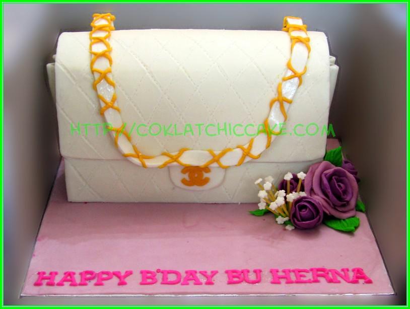 cake branded bag herna