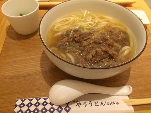 博多やりうどん(福岡空港) 肉うどん
