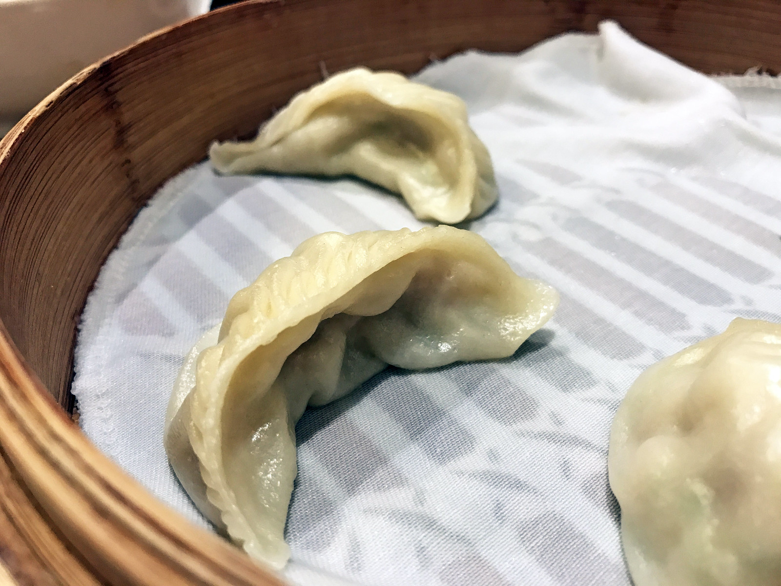 Steamed fish dumplings
