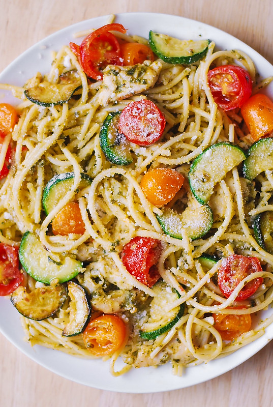 how to cook zucchini spaghetti noodles
