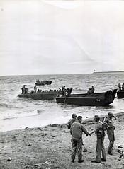 Marines Leaving Guadalcanal, circa 1942