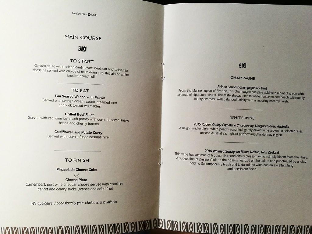 Return menu