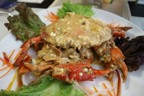 fried crabs with salted eggs - Kairos Kitchen Davao Opens a Sea-riously Kairos Seafoods Restaurant IMG_0998