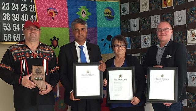 Hinton Award Recipients