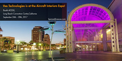 Vee Technologies is showcasing at the Aircraft Interiors Expo