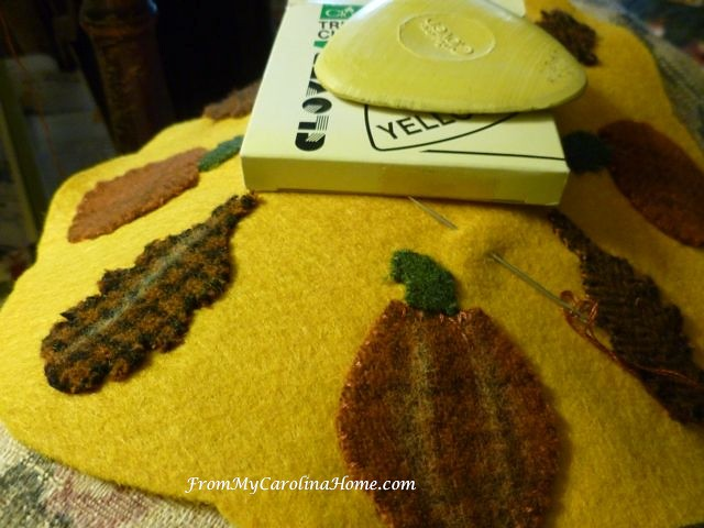 Autumn Jubilee Wool Stitch Along at From My Carolina Home