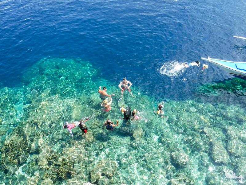 Snorkeling in Pescador Island