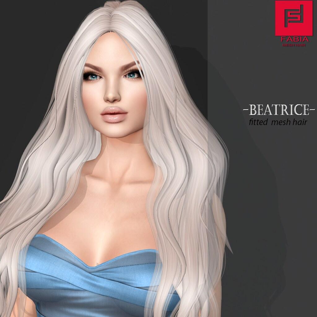 -FABIA- Mesh Hair   _Beatrice_ - SecondLifeHub.com