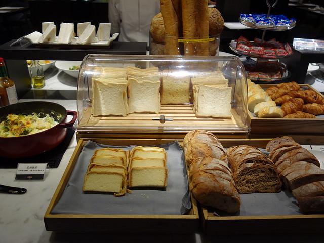各種麵包@高雄喜達絲飯店