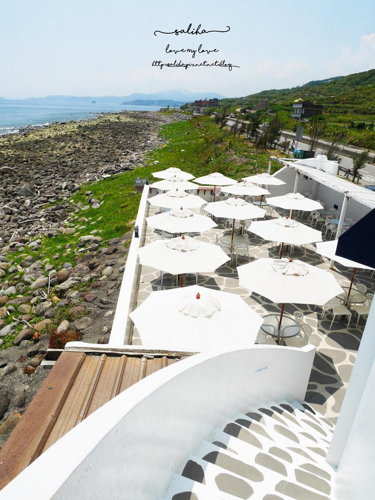 新北金山北海岸海景餐廳推薦洋荳子海邊咖啡館 (26)