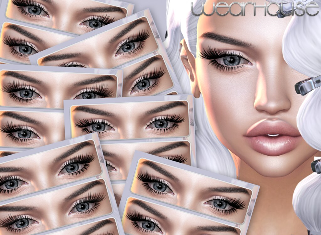 ★Eyelashes Catwa - SecondLifeHub.com