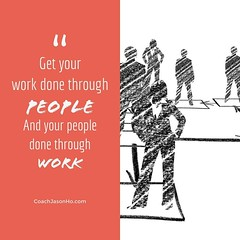 [#CliftonStrengths] #StrengthsFinder #Leadership #Workshop #Program - #Quotes - 'get your work done through people, and your people done through work' • • When Gallup did research on leaders and manager, there are 2 things that they should be focusing on: