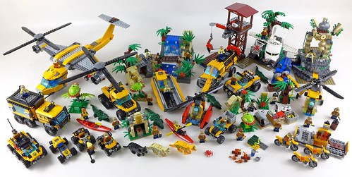 LEGO City Jungle All Sets 31