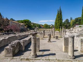 Antikes Viertel Villasse in Vaison-la-Romanie