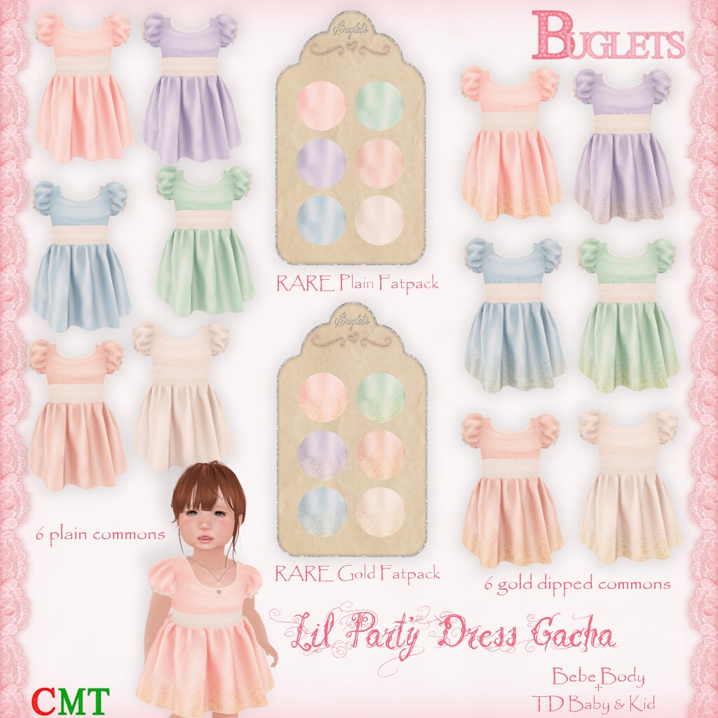 Lil Party Dress Gacha AD - SecondLifeHub.com
