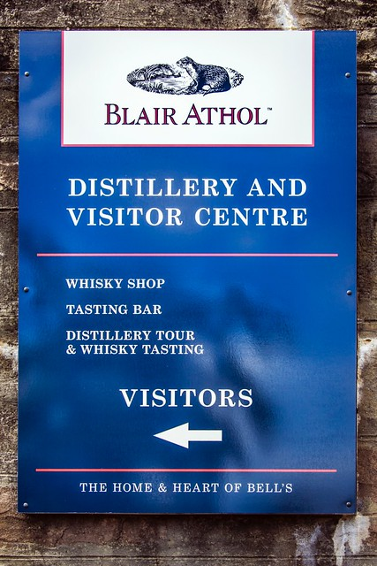 _WCB1886 Blair Athol Whisky Distillery Pitlochry sign