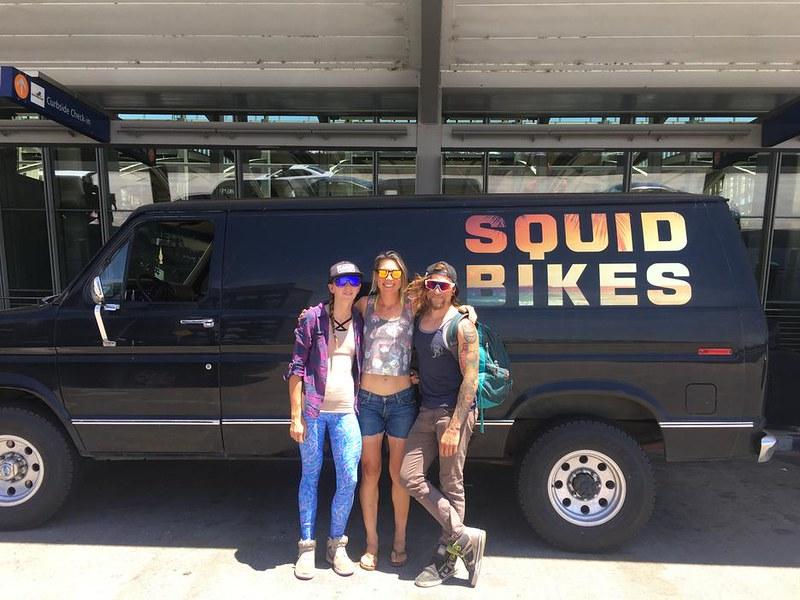 Squid Bikes / Squid Van