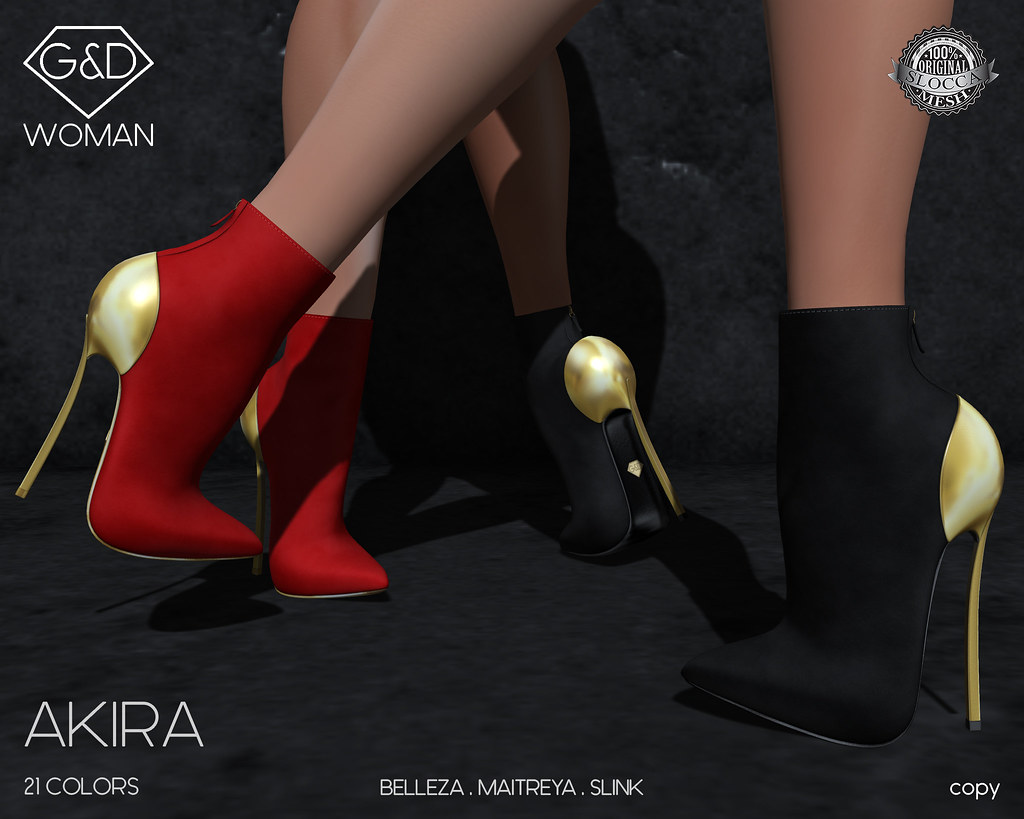 G&D Ankle Boots Akira suede 01 adv - TeleportHub.com Live!