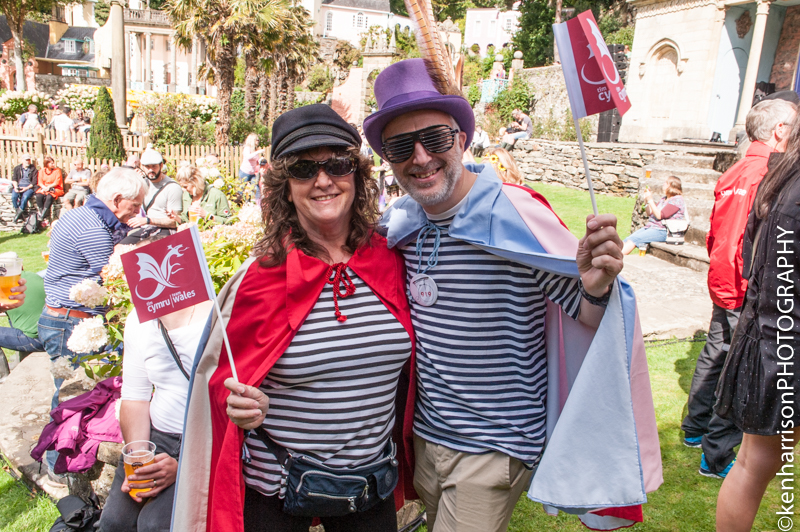 Festival Fun at Festival No.6, Portmeirion, Wales, UK