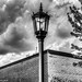 Lamp Post In Black & White by that_damn_duck