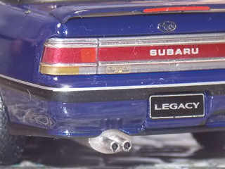 Subaru Legacy Turbo RS - 1989 - IXO