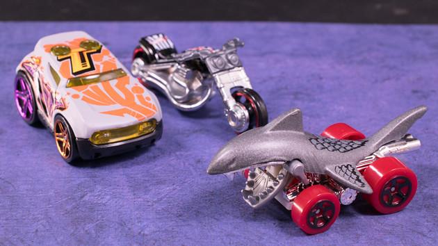 レビュー サメのミニカー!?ホットウィール変わり種3種