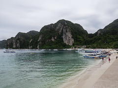 Playa Tonsai West, Isla Phi Phi Don, Tailandia