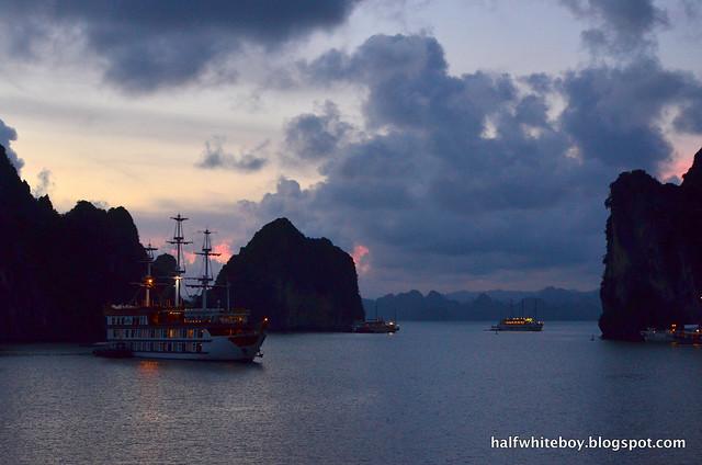 halfwhiteboy - halong bay cruise 40