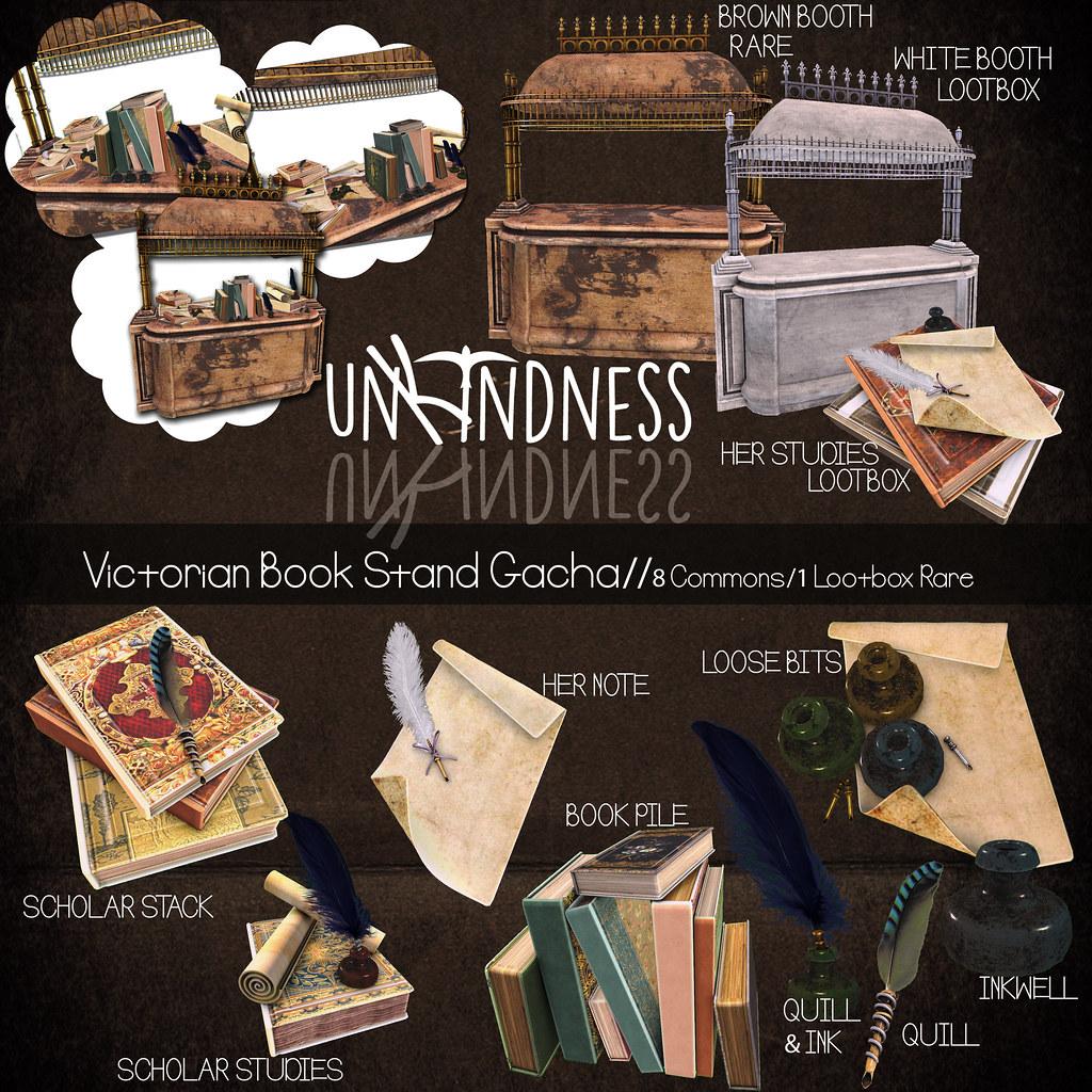 uK - Victorian Book Stand Gacha - Lootbox - TeleportHub.com Live!