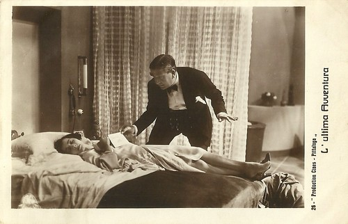 Diomira Jacobini and Armando Falconi in L'ultima avventura (1932)