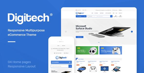 Digitech v1.0 – Responsive Opencart 3.x Theme