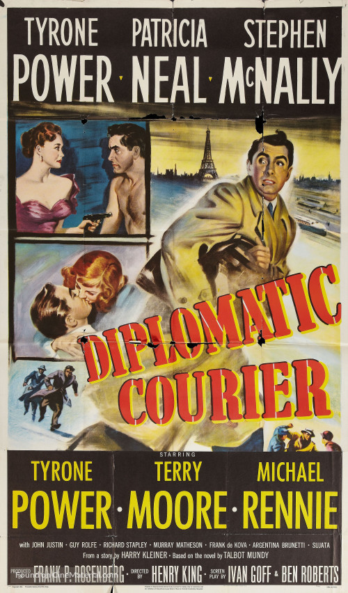 Diplomatic Courier - Poster 2