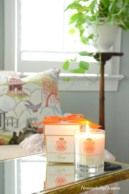 French Garden House Candle-Housepitality Designs