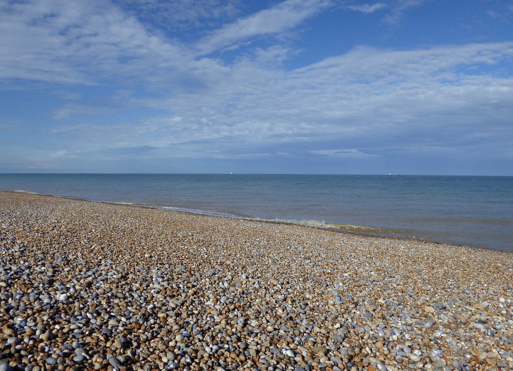 Walmer beach Dover to Deal walk