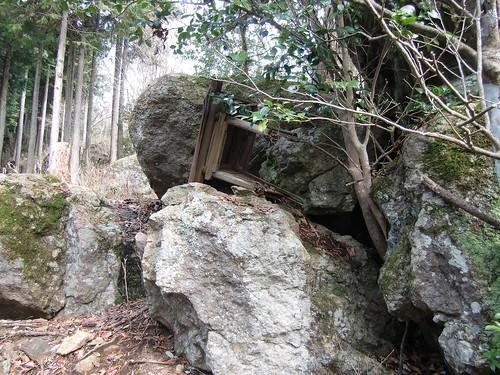 伊和神社と宮山