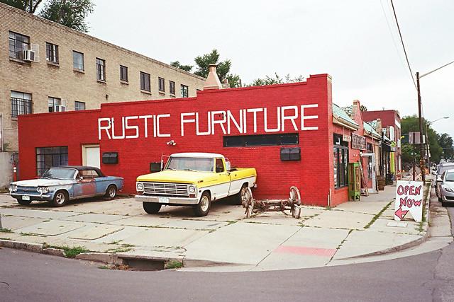 Rustic Furniture; East Colfax