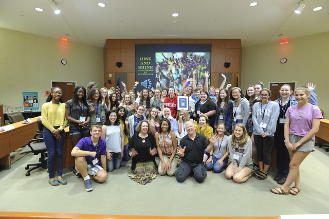 Human Rights Institute Teen Symposium
