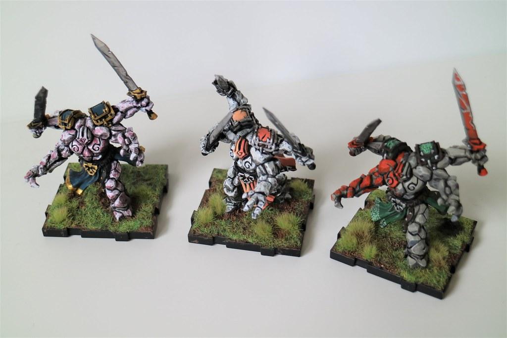 Runewars Miniatures Rune Golems