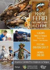 La Segua prepara evento tradicional XXXV Feria del Chame