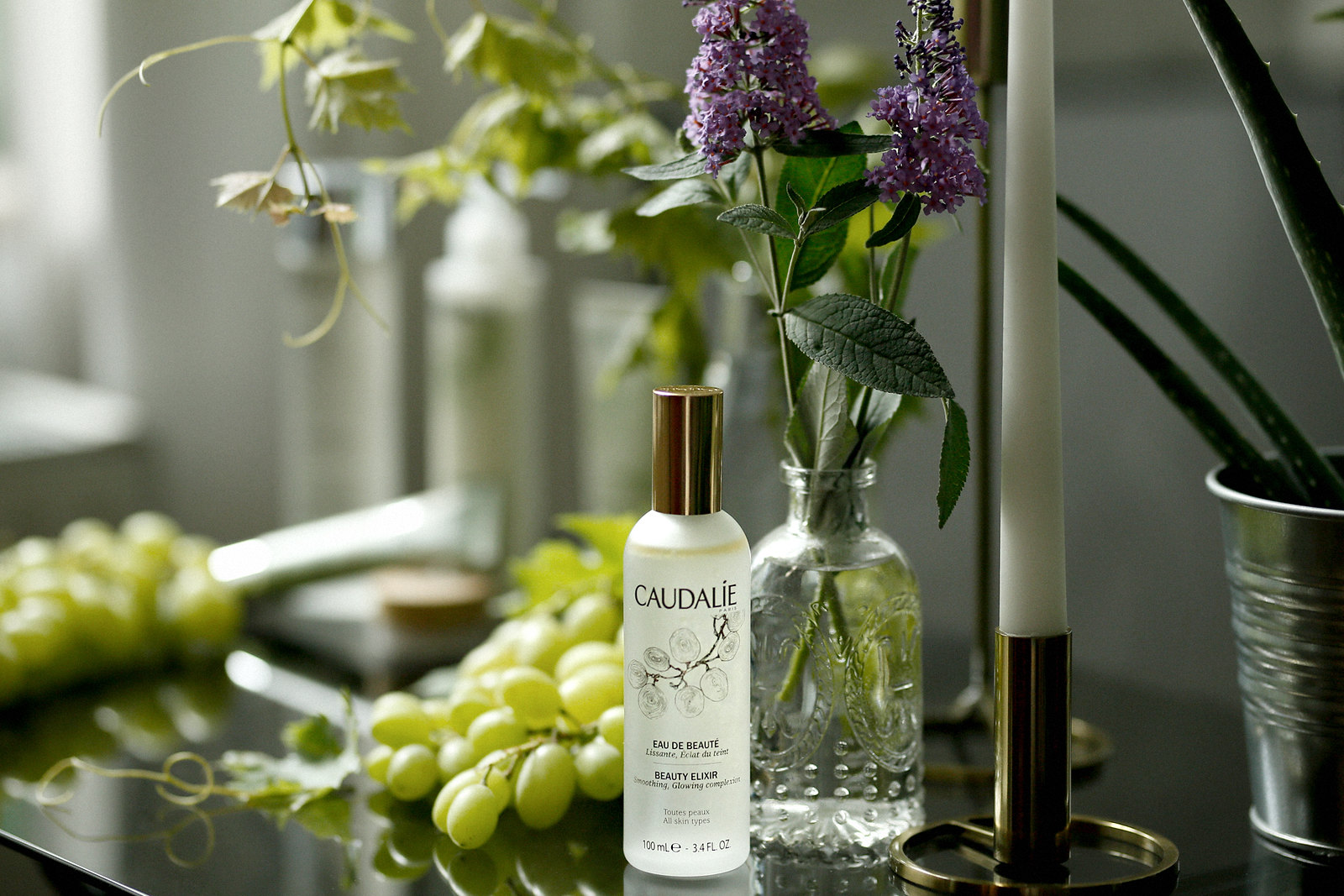 caudalie eau de beauté beauty elixir french beauty wine grapes weintrauben vino vines nature cosmetics mist water spray rosie huntington campaign summer francaise beautyblogger germanblogger cats & dogs beautyblog ricarda schernus düsseldorf 1