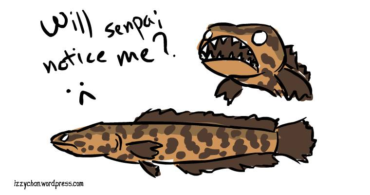 snakehead fish brown will senpai notice me