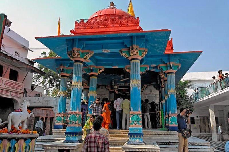 Templo de Brahma en Púshkar