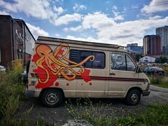 Manchester - Octopus Van