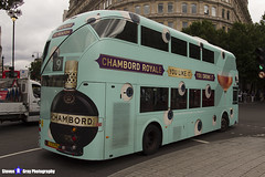 Wrightbus NRM NBFL - LTZ 1174 - LT1174 - Chambord - Hammersmith 9 - RATP Group London - London 2017 - Steven Gray - IMG_1001