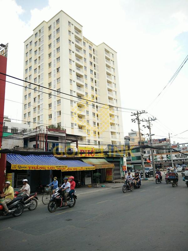 Chung cư Đông Hải sở hữu 96 căn hộ với các loại diện tích: 43, 50, 53, 60 m2