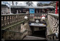 Entrando al metro