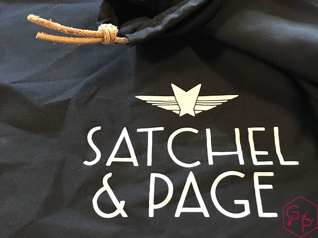 Review @SatchelandPage Port Series - Daily Carry Mobile Office 23
