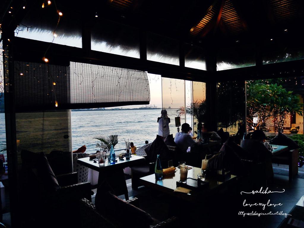 淡水老街看落日夕陽景觀情人節約會餐廳推薦榕堤水灣餐廳 (1)