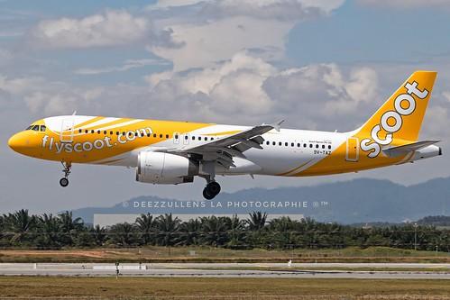 9V-TAZ | Airbus A320-232 | Scoot |                                                                                                                                                                             © deezzullens la photographie