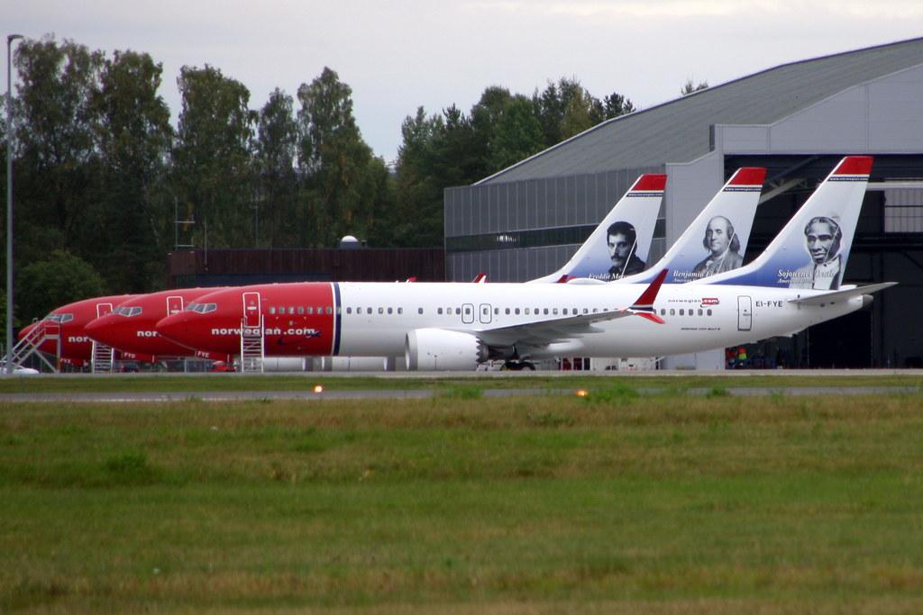 Engm – com Ei-fvx Norwegian Gardermoen Jetwashphotos Osl